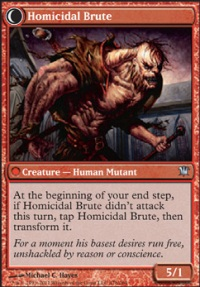 MTG Card: Homicidal Brute