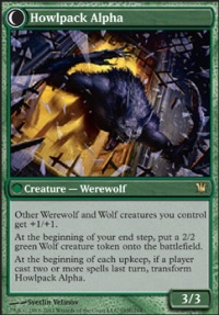 MTG Card: Howlpack Alpha