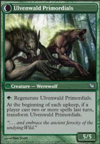 MTG Card: Ulvenwald Primordials